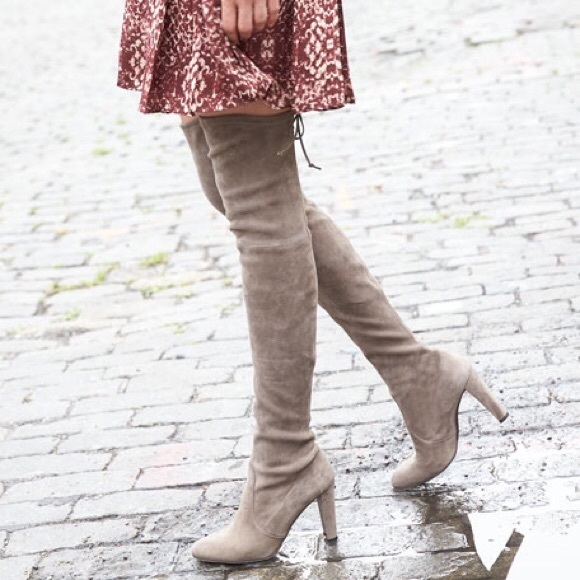 8a52494b3e4 Stuart Weitzman highland suede over-the-knee boot